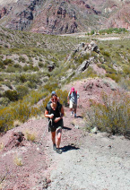 With LATITUR on Potrerillos, Mendoza, Argentina you can make Trekking Full Day desde Potrerillos Mendoza