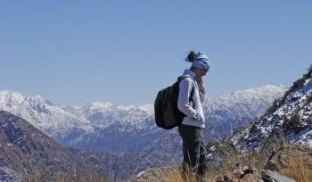 With LATITUR on Luján de Cuyo you can make Trekking + Canopy + Rappel en Mendoza