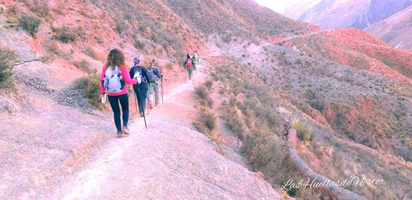 In Iruya, Salta, Argentina you can Trekking de Iruya a Nazareno with LATITUR