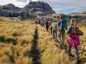 With LATITUR on Champaquí, Córdoba, Argentina you can make Trekking Champaquí Rápido en 2 días